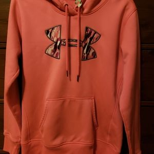 Womens Breast Cancer Under Armour Hoodie